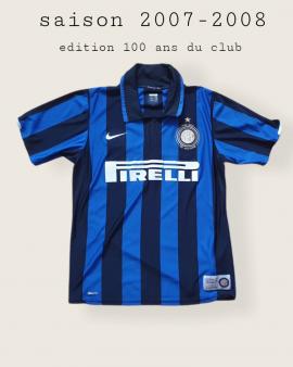 Maillot inter milan (M) 2007-2008 collector (pour les 100 ans du club)