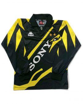 Original 1995/96 Vintage/Retro Juventus Third Long Sleeve Football Shirt/Jersey