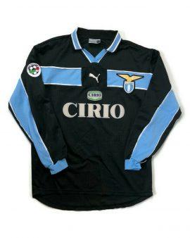 Veron #23 🔥 Original Lazio 1998/99 Away À Manches Longues Football shirt PUMA