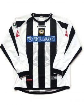 Rare Original 2003/04 Vintage/Retro Udinese Home Long Sleeve